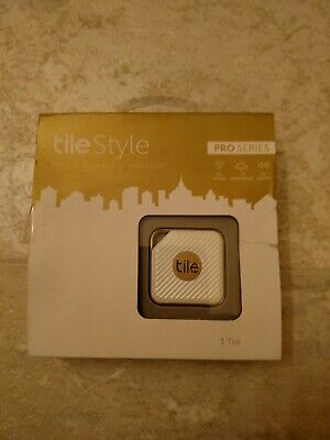 Bluetooth Tracker Tile Style Pro Series US Smart Tracker - Gold New