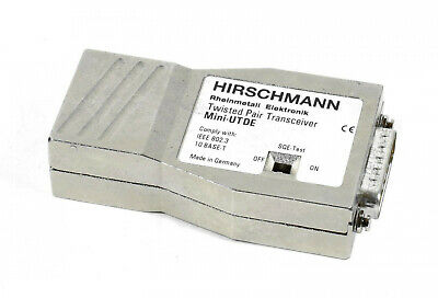 Hirschmann Twisted Pair Transceiver,Mini-UTDE