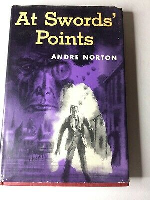 AT SWORDS' POINT By Andre Norton - Hardcover VG, personally signed, 1953