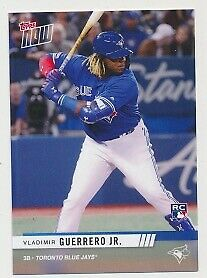 2019 Topps Now Rc Vladimir Guerrero Jr. Toronto Spring Expo Exclusive Blue Jays