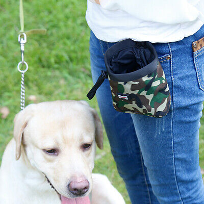 Cane Formazione Training Treat Snack Sacchetto Borsa Feed Bait Pouch Dispenser