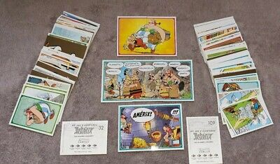 Collection Complete ! 124 Images / Stickers Panini Asterix Carrefour 2019