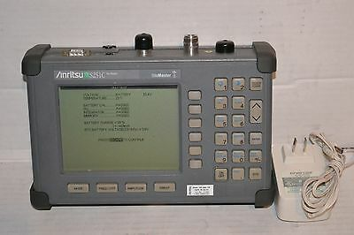 Calibré Anritsu S251C Site Master Câble Analyseur W/Option 10B Biais T-Shirt