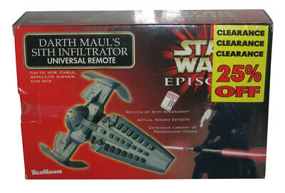 Star Wars Darth Maul Sith Infiltrator Toy Universal Remote Controller