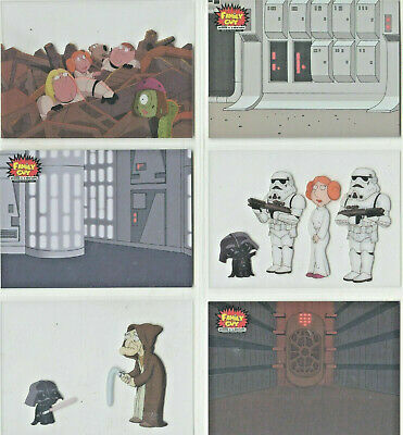 Star Wars - Family Guy - Scenes From Space - Chase Card SET (6) - NM