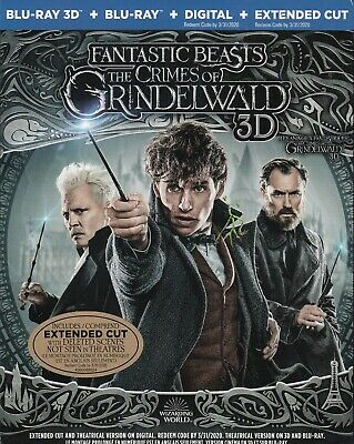 Fantastic Beasts The Crimes Of Grindelwald 3D (Bluray 3D/Bluray)(2 Disc Set)