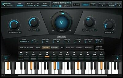 Antares Auto-Tune Pro (v9.01) with Auto-Key!  SAME DAY eDelivery to your Ilok!