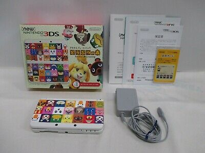 3DS -- new Nintendo 3DS Animal Crossing -- Box. Nintendo 3DS, JAPAN Game. 64596