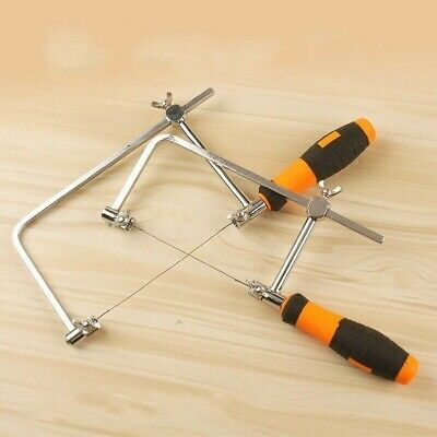 Adjustable Jewellers Saw Woodworking Multi-function Manual Curve Tool with Blade