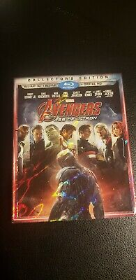 Avengers: Age of Ultron (3D blu-ray + blu-ray Disc, 2015) collectors edition