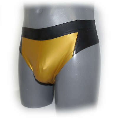 Latex underwear rubber fetish shorts for men Size L (3508)