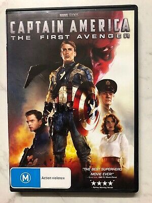 Captain America - The First Avenger (DVD, 2015)