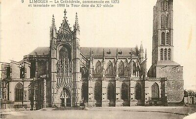 Cp Limoges Cathedrale - C 12874