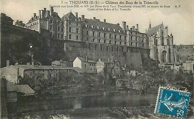Cp Thouars Chateau