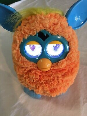 Orange Furby Toy