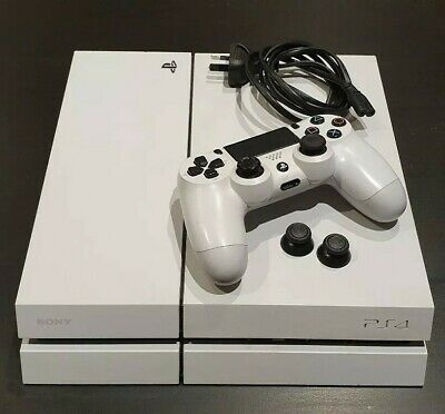 Sony PlayStation 4 (PS4) Glacier White 500 GB Console - NO RESERVE