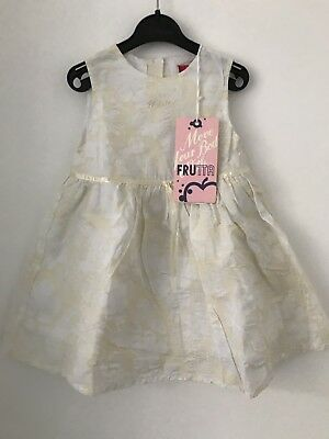 NWT COTTON FRUTTA DRESS SIZE 18 months
