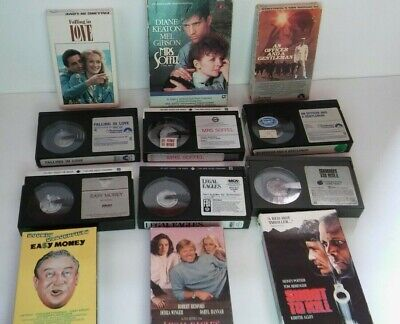 Lot of 6 Beta Betamax Movies Tapes Vintage Mixed Lot  instant collection