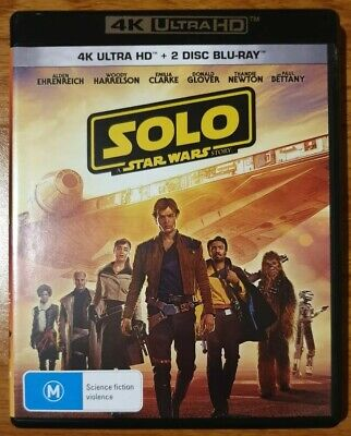 Solo : A Star Wars Story (4k UHD + Blu-ray, 3-Disc Set)