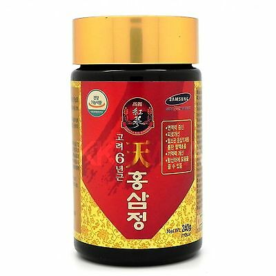 Korean 6 Years Root Red Ginseng Extract 240g (8.46 oz) panax ginseng