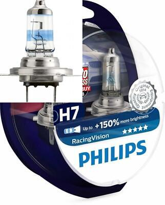 Philips RacingVision 0730253 150% Ampoule Phare H7 12972RVS2, paquet Twin box