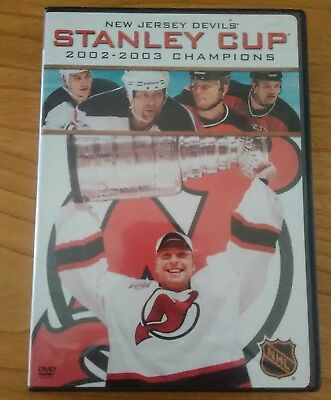 HOCKEY DOCUMENTARY: STANLEY CUP CHAMPIONS: 2002-2003 NEW JERSEY DEVILS,pre-owned