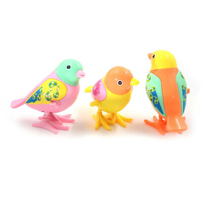 1PC Cute Bird Clockwork Wind Up Toy Kids Early Educational Toy Gift Color Random