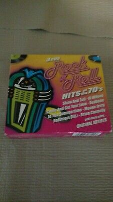 Rock N' Roll Hits of the 70's [Box] by Various Artists (CD, Jul-2000, 3...