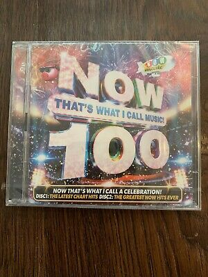 NOW 100 CD. DOUBLE CD. BRAND NEW. Now That's What I Call Music 100