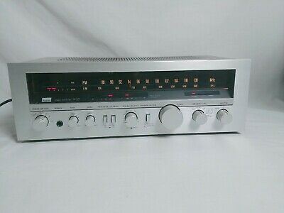 Vintage Sansui R-50 Silver AM/FM Stereo Receiver, TESTED, Power 160 Watts, JAPAN