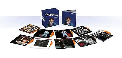 """David Bowie """"Who Can I Be Now? (1974-1976)"""" 12 CD Box Set Collection"""