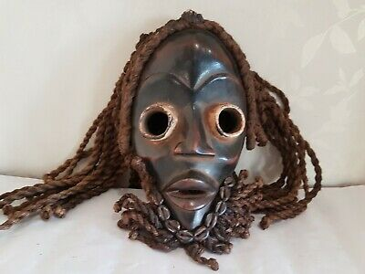 Genuinely old and used African Dan Gunyege wood mask. Fine example. Ivory Coast