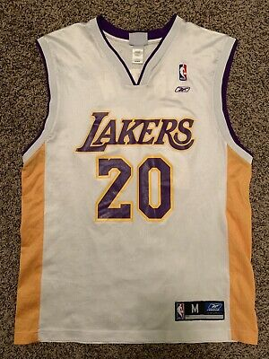 619a66945c0 VINTAGE GARY PAYTON Los Angeles Lakers #20 Nike Jersey Size Men's ...