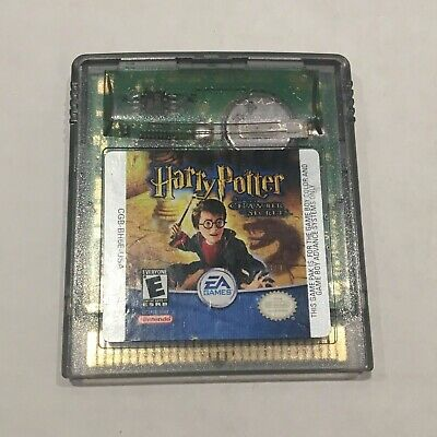 Harry Potter And The Chamber Of Secrets Game Boy Color