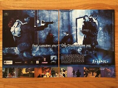 THE THING (PC, 2002) CD ROM Video Game - $11 00   PicClick