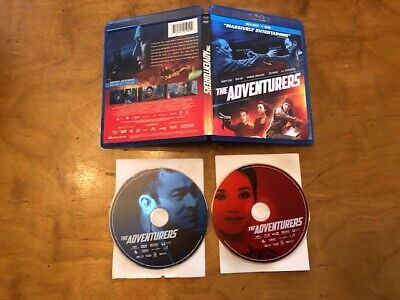 The Adventurers Blu ray/DVD*Well Go USA*Andy Lau*2 Disc*Widescreen*