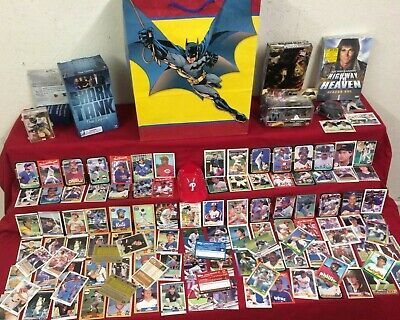 Huge Mixed lot of Collectibles, Trading Cards, DVD Set, Gifts #021