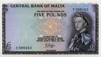 5. Pounds Central Bank of Malta 1967