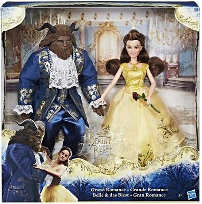 Disney Beauty and the Beast Collectors figurines gift Belle and the Beast Toys