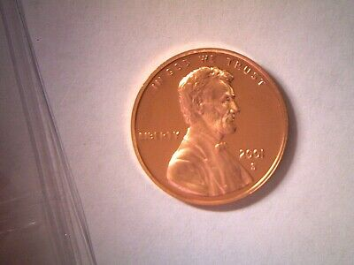 2001 S Proof Lincoln Memorial Cent Penny