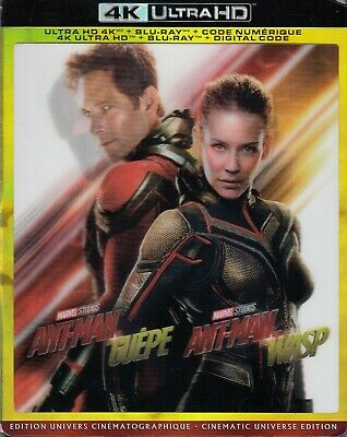 Ant-Man And The Wasp (4K Ultra Hd/Bluray)(2 Disc Set)(Used)