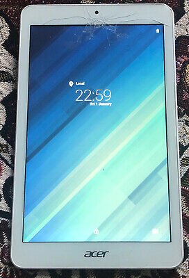 Acer Iconia One 8 Tablet Blue B1-850 16 GB Storage 8 inch Display