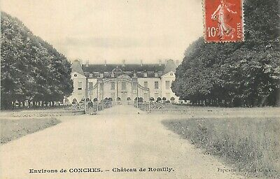 Cp Chateau De Romilly