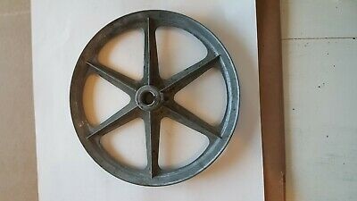 """congress A-1000 V groove pully 10in dia 3/4"""" bore lot of (1) free shipping"""