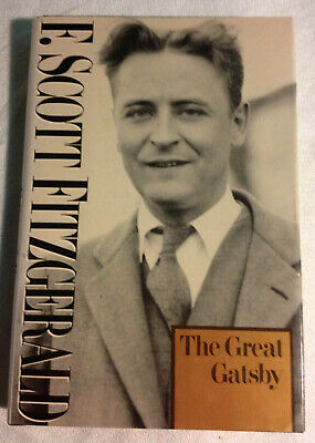 The Great Gatsby by F. Scott Fitzgerald (1981, Hardcover, Like New)