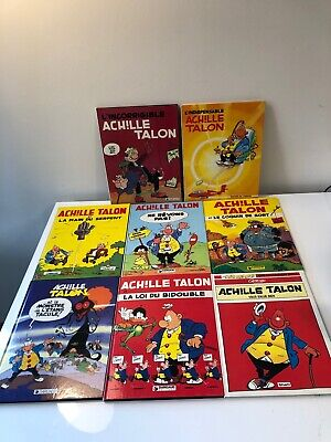 "Lot de 7 BD EO Achille Talon dont ""L'incorrigible"" en TBE + bonus"