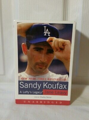 Sandy Koufax A Lefty's Legacy Audio Book 2002 Read by Charley Steiner*New Sealed