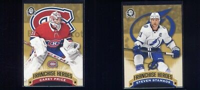 2018-19 OPC Coast to Coast Canadian Tire Franchise Heroes Price/ Patrick Roy G-7