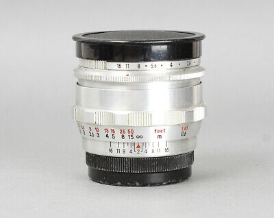 Carl Zeiss Jena Biotar 10 Blades 58mm F/2 mount M42 *4307635