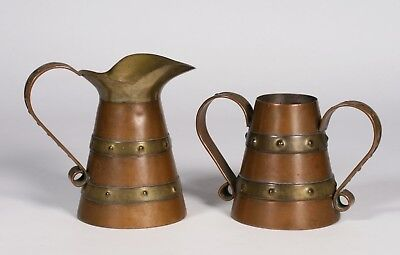 Old Mexican Copper Pitcher & Vase 1940's - Spratling - Aguilar - Southwest Style